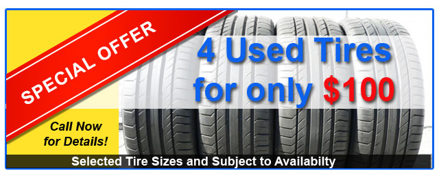 unbeatable special offer used tire deal, best deal in Bradenton and Sarasota