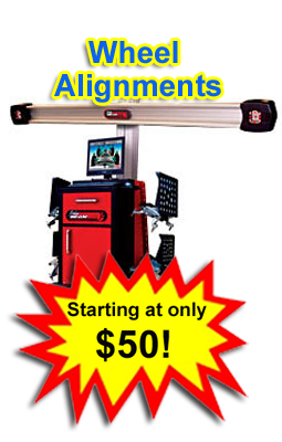 Cheap  Wheel Alignments Bradenton, Manatee